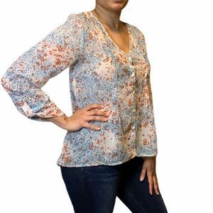 Pins and Needles Floral Blouse